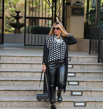 OUTFIT | POLKA DOTS AND MEN'S WEAR