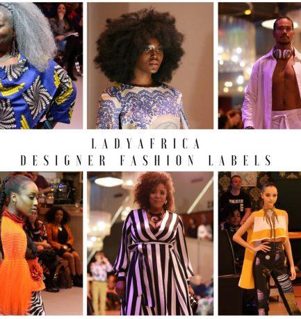 LADY AFRICA DESIGNER FASHION LABELS
